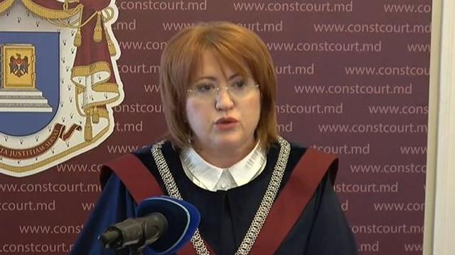 LIVE | Briefing susținut de Președintele Curții Constituționale a Republicii Moldova, Domnica Manole