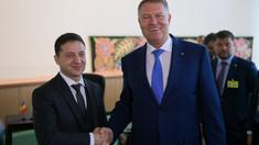 Discuție telefonică Iohannis - Zelenski: România sprijină ferm suveranitatea și integritatea teritorială a Ucrainei
