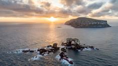 Arcul lui Darwin din Insulele Galapagos s-a prăbușit