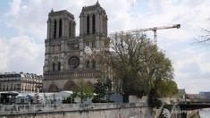 Poluare cu plumb: Esplanada catedralei Notre-Dame din Paris, închisă provizoriu