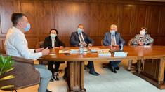 Delegația Platformei DA, aflată în vizită la București, a avut întâlniri cu Ministrul Energiei și Ministrul Culturii din România