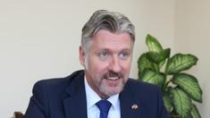 Zilele Europei | Ambasadorul Letoniei în R.Moldova, Uldis Mikuts: Înainte de aderarea noastră la Uniunea Europeană, oamenii au votat pentru un viitor cert într-o societate a țărilor dezvoltate și pentru o viață mai bună (AUDIO)