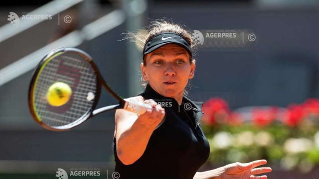 Tenis: Simona Halep a pierdut în optimi la Madrid (WTA)