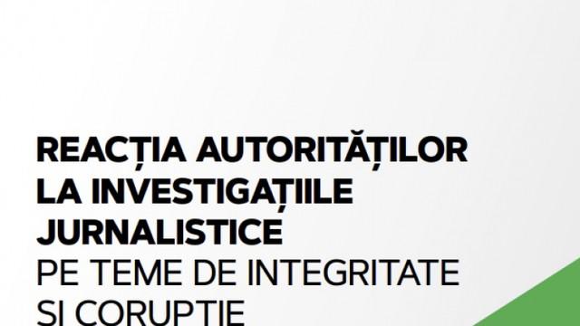 STUDIU   Reacția autorităților la investigațiile jurnalistice pe teme de integritate