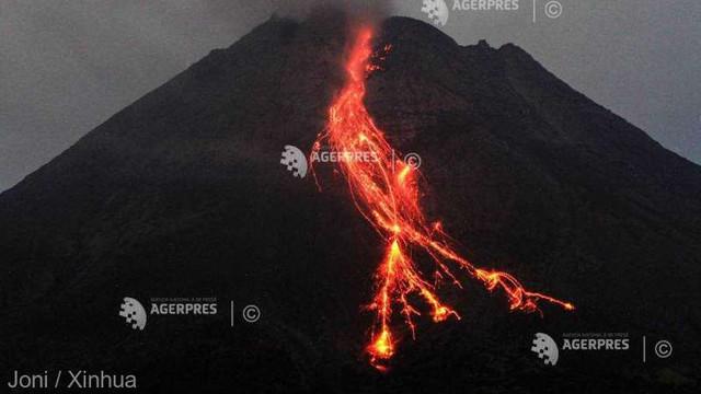 Indonezia   Vulcanul Sinabung a erupt, expulzând cenușă până la 2.000 de metri deasupra craterului