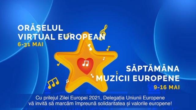 LIVE   Concert cu prilejul Zilei Europei 2021