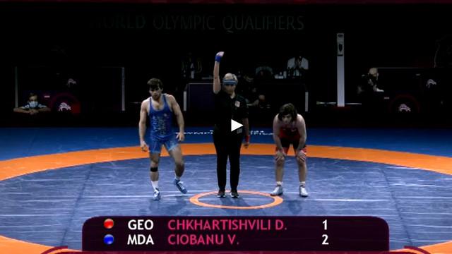 Victor Ciobanu s-a calificat la Jocurile Olimpice de la Tokyo