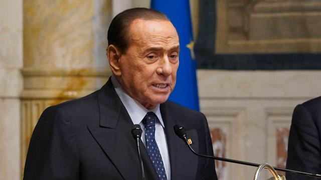 Silvio Berlusconi este din nou spitalizat