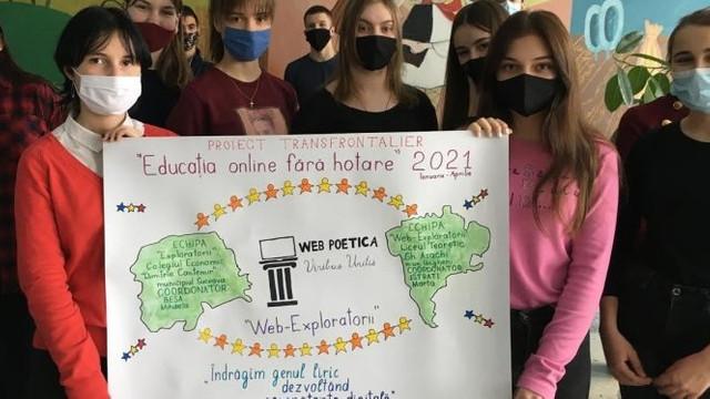 Un liceu din Suceava și un liceu din Ungheni, într-un proiect de promovare a poeților români de pe ambele maluri de Prut