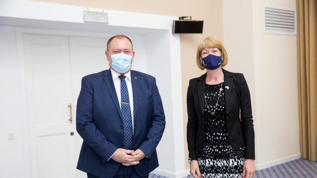 """Aureliu Ciocoi: """"Cooperarea moldo-britanică reprezintă o prioritate pentru diplomația Republicii Moldova"""""""