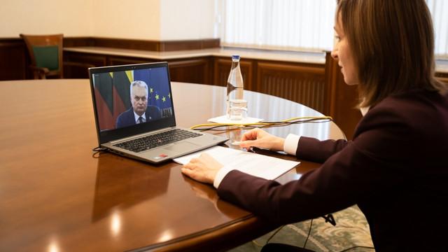 Programul vizitei oficiale a Președintelui Lituaniei la Chișinău