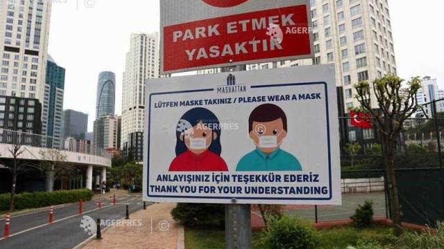 Turcia relaxează lockdown-ul, restricțiile pe timpul nopții și în weekend rămân