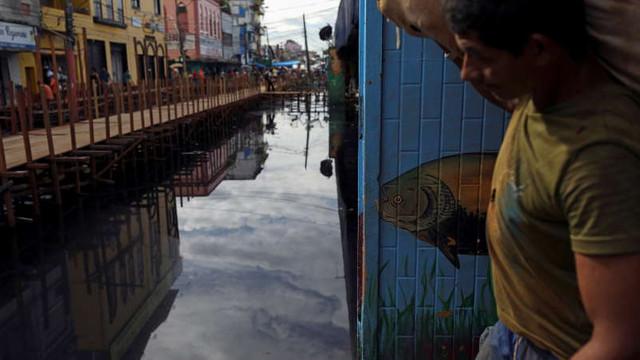Brazilia   Ploile torențiale din pădurea tropicală amazoniană amenință capitala statului Amazonas, Manaus, cu un nou dezastru după ce a fost afectată sever de pandemia de coronavirus