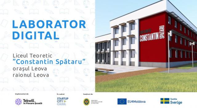 Nouă școli din sudul R.Moldova vor fi asigurate cu laboratoare digitale moderne, pentru a studia profesiile viitorului