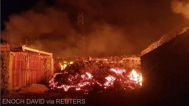 RD Congo: Cel puțin 15 morți în urma erupției vulcanului Nyiragongo; principalul oraș din zonă ''a fost cruțat''