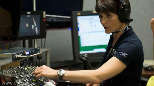 Samantha Cristoforetti va fi prima astronaută europeană care va prelua comanda Stației Spațiale Internaționale