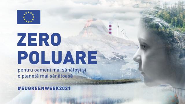 """Delegația UE lansează campania """"Poluare zero pentru sănătatea oamenilor și a planetei"""""""
