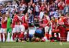 EURO 2020 | Meciul Danemarca - Finlanda, întrerupt, după ce mijlocașul danez Christian Eriksen s-a prăbușit pe teren