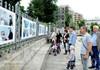 În centrul capitalei a fost lansată o expoziție dedicată lucrătorilor medicali