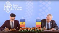 Banca Națională a Moldovei și Banca Națională a României au semnat un nou Acord de cooperare