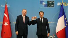 Discuție Macron-Erdogan în marja summitului NATO pentru a ''clarifica'' subiecte controversate din relațiile bilaterale