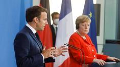 Merkel și Macron îndeamnă la o coordonare în cadrul UE cu privire la redeschiderea frontierelor
