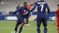 EURO 2020: Ousmane Dembele părăsește echipa Franței din cauza unei accidentări la genunchi