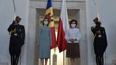 Maia Sandu a avut o întrevedere cu președinta Seimului polon, Elżbieta Witek