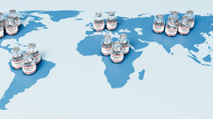 SUA vor dona 55 de milioane de doze de vaccin la nivel global. Printre țările beneficiare se află și R. Moldova