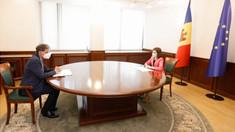 Președintele Maia Sandu s-a întâlnit cu ambasadorul Israelului în Republica Moldova