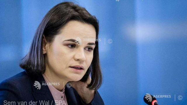 Belarus | Svetlana Tihanovskaia cheamă SUA, Marea Britanie și UE să acționeze împreună împotriva regimului Lukașenko