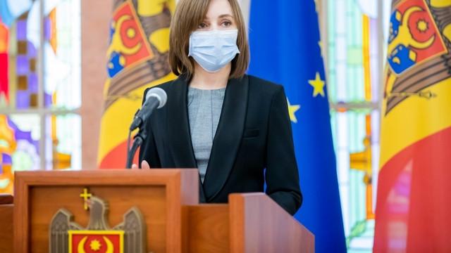 Președintele Maia Sandu va efectua o vizită oficială în Italia