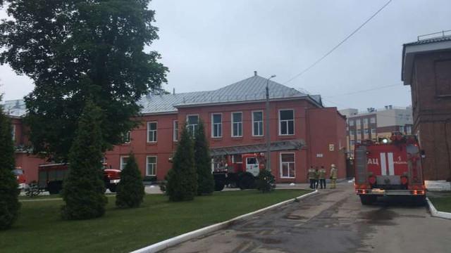 Trei persoane au murit într-un incendiu declanșat la o secție de bolnavi de COVID-19 într-un spital din Rusia