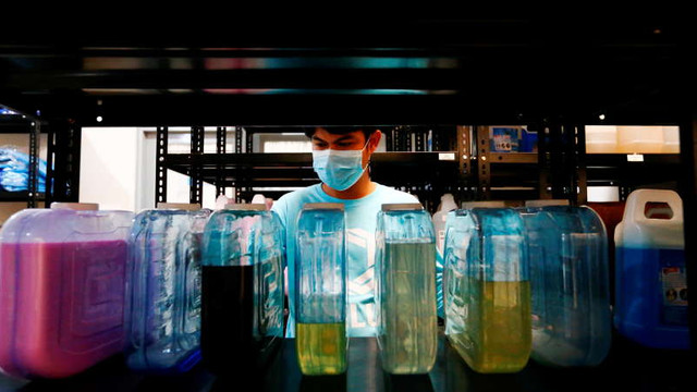 Pandemia de coronavirus a provocat o diminuare a producției mondiale de plastic