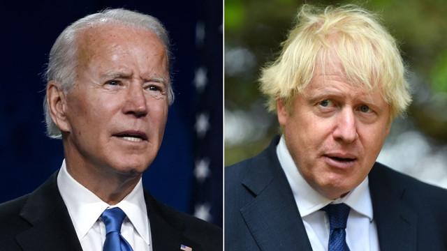 """Joe Biden și Boris Johnson vor semna un nou acord după """"Carta Atlanticului"""" din 1941, semnată atunci de Roosevelt și Churchill"""
