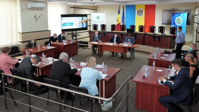 Conducerea CEC a avut o întrevedere cu misiunea pre-electorală a APCE