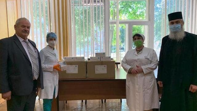 Episcopia de Bălți a Mitropoliei Basarabiei, o nouă donație pentru spitalul din oraș