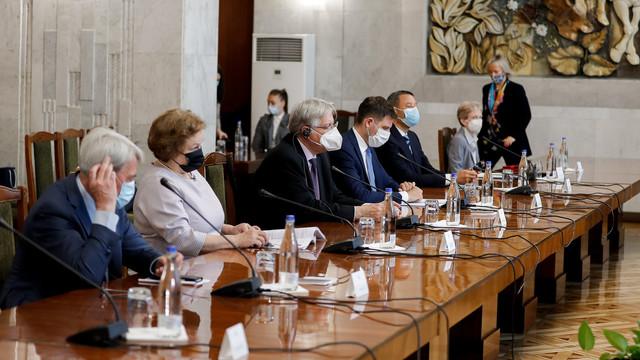 Maia Sandu a avut o întrevedere cu membrii delegației APCE, care efectuează o vizită preelectorală în R.Moldova. Principalele subiecte abordate