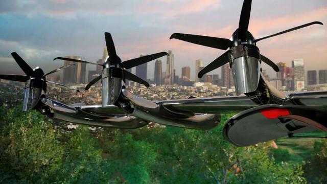 Companiile aeriene intenționează să investească miliarde de dolari în taxiuri zburătoare