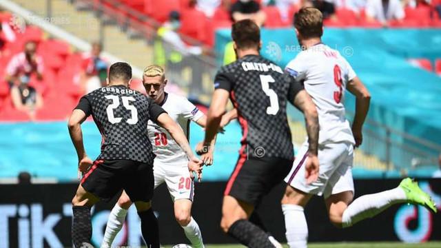 EURO 2020 | Anglia a învins Croația cu 1-0