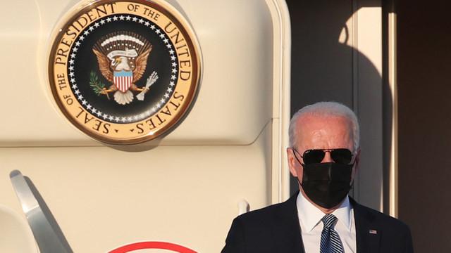 """Joe Biden a ajuns la Bruxelles pentru un summit """"esențial"""" al NATO"""
