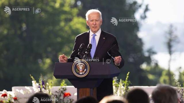 Joe Biden s-a pierdut cu firea la conferința de presă după summitul cu Putin și a acuzat jurnaliștii de negativism