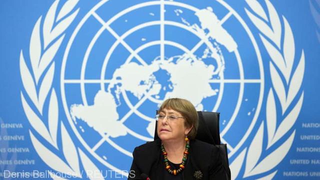 Înaltul Comisar al ONU, Michelle Bachelet, a făcut apel la un nou început în fața ''celor mai mari și mai grave regrese''în domeniul drepturilor omului pe care le-a văzut vreodată