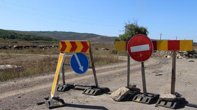 Un drum național care traversează trei raioane, în lucru cu scop de reabilitare până în 2023