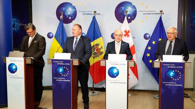 MAEIE: R. Moldova, Georgia și Ucraina își doresc o aprofundare a asocierii politice cu UE