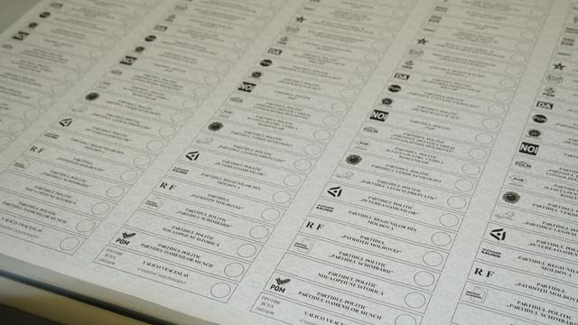 Buletinele de vot pentru secțiile de votare din străinătate au fost tipărite