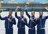 JO 2020 | Canotaj: România, medaliată cu argint la Tokyo în proba masculină de patru rame