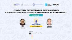 NOI ȘI EUROPA   Cum putem combate dezinformarea în Republica Moldova? Este suficient să schimbăm legislația?