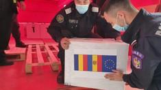 Lotul de peste 100 de mii de doze Pfizer oferit de România a ajuns la Chișinău