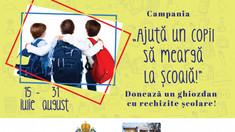 Mitropolia Moldovei adună rechizite școlare pentru copii